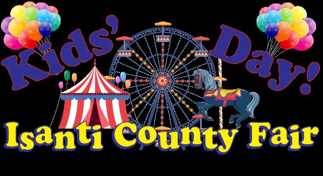 Kids-Day!-Isanti-Co-Fair-Balloons!-Logo-blue-horse