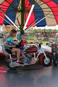 kids on motorcycle ride