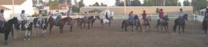 Isanti 4H Drill Team in Anrea